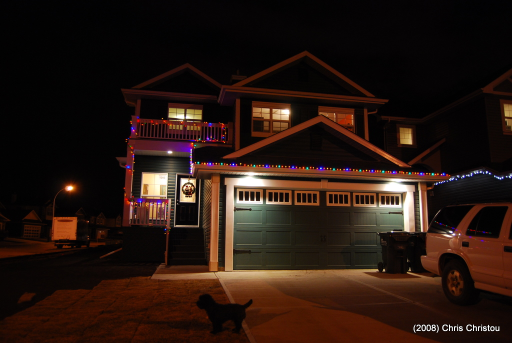 2008 House Christmas Lights